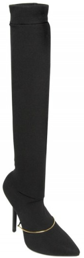 Givenchy Mary Jane thigh jersey boots1 Givenchy Mary Jane thigh high jersey boots