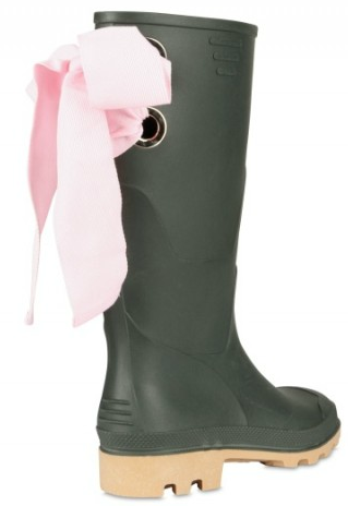 Red Valentino Pink Bow Rubber Boot Red Valentino Pink Bow Rubber Boots
