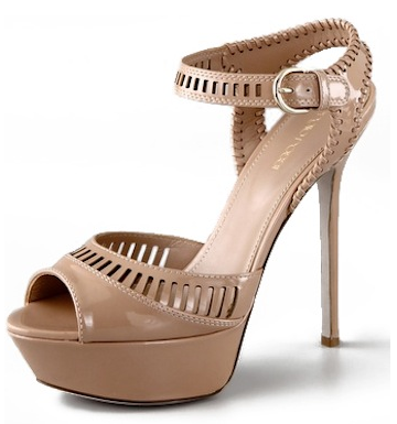 Sergio Rossi Star Patent Platform Sandals Sergio Rossi Star Patent Platform Sandals