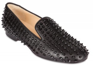 Christian Louboutin Rollerball Spike Flats Christian Louboutin Rollerball Spikes Flats