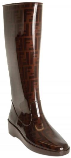 Fendi Zucca Rain Boot Fendi Zucca Rain Boots