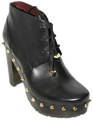 Marc by Marc jacobs Nappa Laced Studded low Clogs Marc by Marc Jacobs Laced Studded Clogs