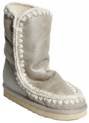 Mou Eskimo Metallic Boot Mou Eskimo Sherling Boots