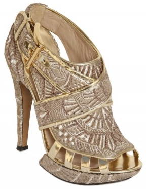 Nicholas Kirkwood gold Metallic embroidered Sandals Nicholas Kirkwood Metallic embroidered Sandals