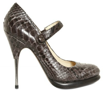 Alexandre Birman Mary Janes Pumps Stunning Striking Python Mary Janes Pumps