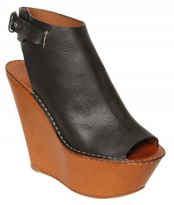 Chloe Open Toe Wedges1 Chloe Leather Open Toe Wedges