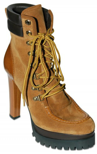 DSquared Suede Laced Low Boots