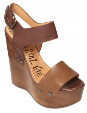 Lanvin Buckled Wedge Lanvin Buckled Wedges