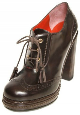 Marc by Marc Jacobs Brushed Calfskin Laced Low Boots MBMJ Brushed Calfskin Laced Low Boots