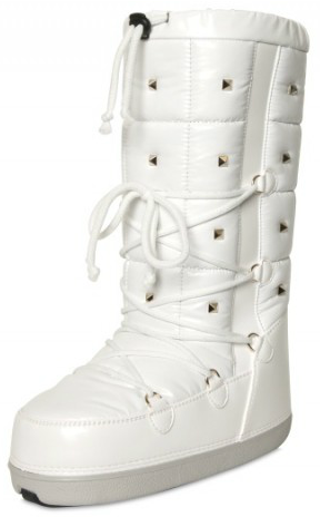 Valentino Studded Quilted Nylon Boots Valentino Studded Quilted Nylon Boots