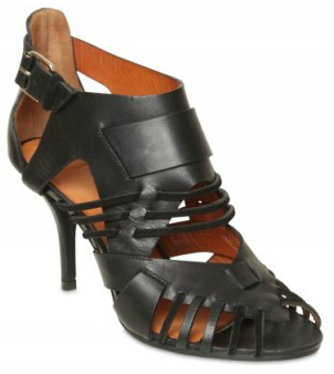 Givenchy Leather Suede Cage Sandals Givenchy Leather Suede Cage Sandals