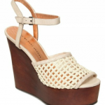 Marc by Marc Jacobs Woven Vegetal Wedges